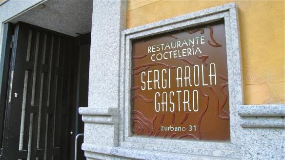 Sergi Arola reabre Gastro