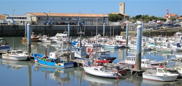 Puerto de la Cotinière, en la isla de Oléron
